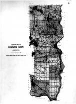 Outline Map, Washington County 1912